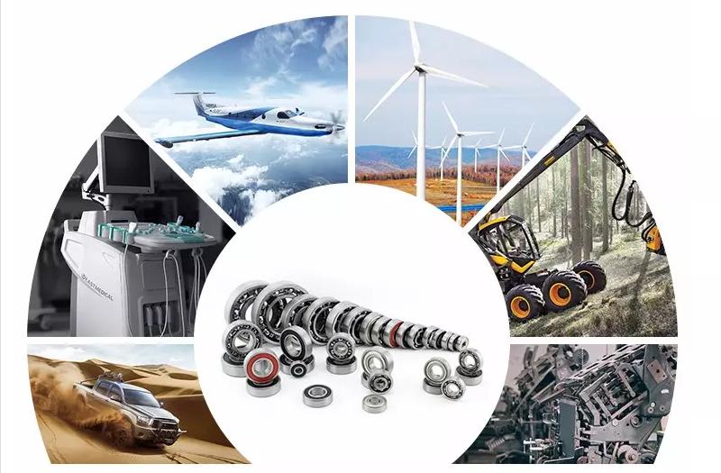 Bearings manufactured by SWS Bearings LTD are used in various industries