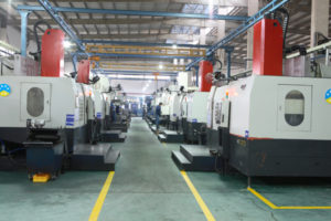 Production workshop of SWS Bearings LTD